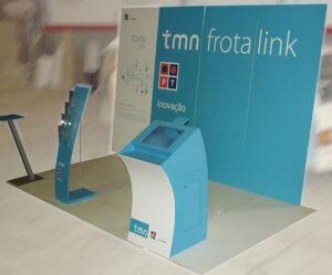 Criação e montagem de stand TMN