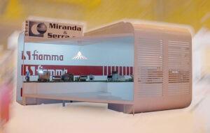 Criação de estrutura stand Miranda & Serra