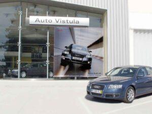 Decoração exterior Auto Vistula em lona