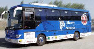 Decoração de viatura Liberty Seguros em vinil autocolante