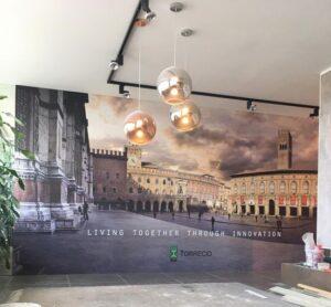 Decoração interior de parede Torrecid em vinil